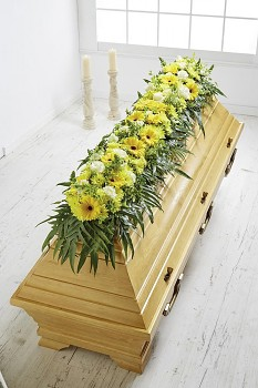 Pohřební držák na květiny