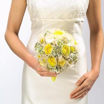Držák pro kulatou svatební kytici