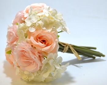 Umělá květina RŮŽIČKY A HORTENZIE