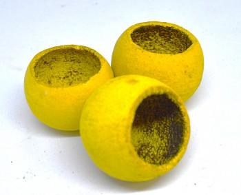 Sušené plody na aranžování BELL CUP ŽLUTÝ