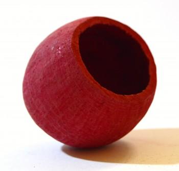 Sušené plody na aranžování BELL CUP ČERVENÝ