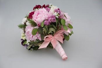 Držák svatební kytice 1