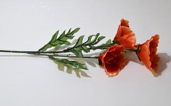 Umělá květina MÁK