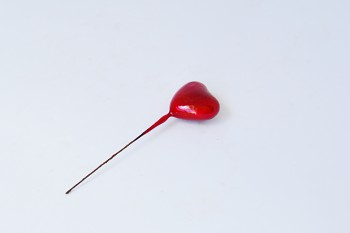 Srdce červené - zápich