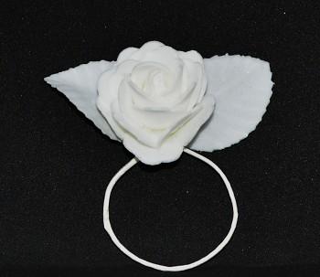 Svatební dekorace RŮŽE NA DRÁTKU