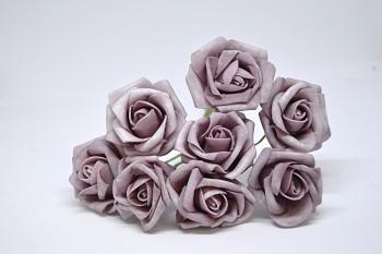 Umělá květina KYTICE RŮŽÍ STARORŮŽOVÁ