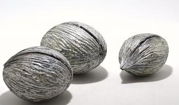 Suché plody Mintola ball stříbrný, sušené plody na aranžování