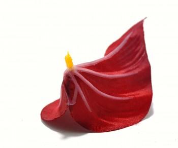 Umělá květina KALA TMAVĚ ČERVENÁ