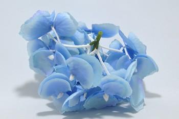 Umělá květina Hortenzie modrá