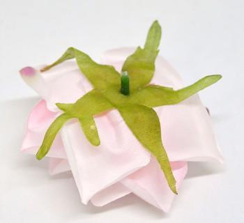 Umělá květina Růže Scarlett sweet pink
