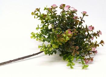 Umělá květina Drobné kvítky růžové