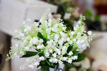 Umělá květina KONVALINKA