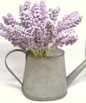 Umělá květina PROSO FIALOVÉ