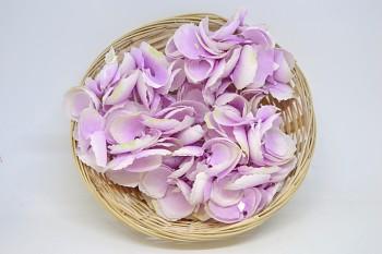 Umělá květina Hortenzie růžová