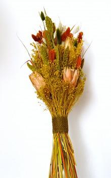 Kytice ze sušených květin SE SETÁRIÍ
