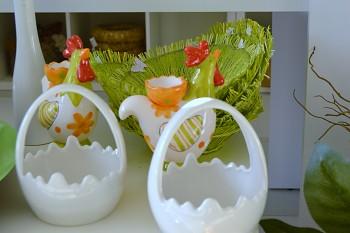 Velikonoční dekorace VEJCE KERAMICKÉ