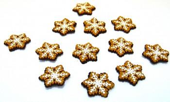 Látková vánoční ozdoba Hvězdy