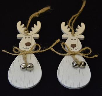 Dřevěná vánoční ozdoba Sob