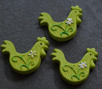 Velikonoční dekorace Zelený kohout