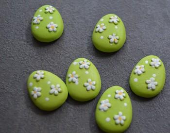 Velikonoční dekorace Zelená kraslice