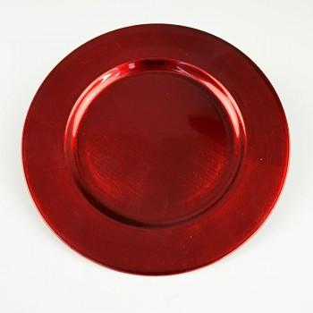 Podnos Červený talíř