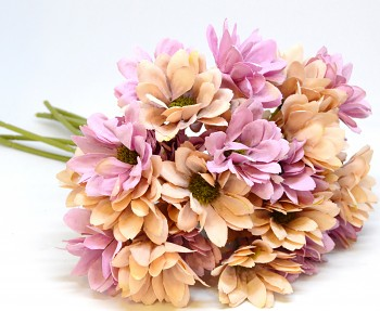 Umělá květina KYTICE KOPRETIN