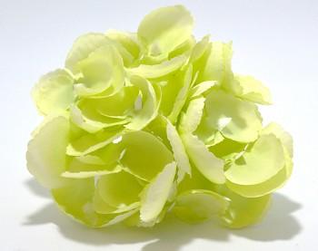 Umělá květina Hortenzie zelená