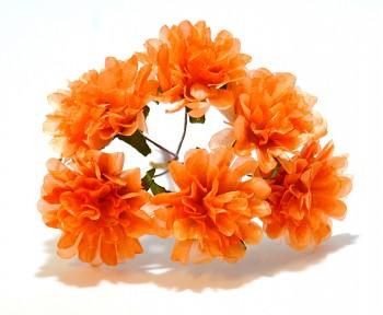 Umělá květina SANTINA ORANŽOVÁ