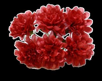 Umělá květina SANTINA ĆERVENÁ