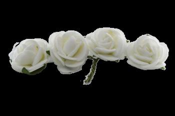 Svatební dekorace RŮŽIČKY NA DRÁTKU