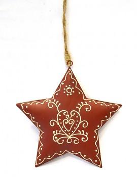 Vánoční dekorace VÁNOČNÍ HVĚZDA