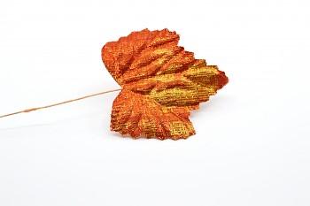 JAVOROVÝ LIST MĚDĚNÝ, podzimní dekorace