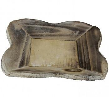 Dřevěný talíř, tác na aranžování