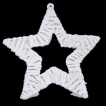 Dekorace Bílá hvězda