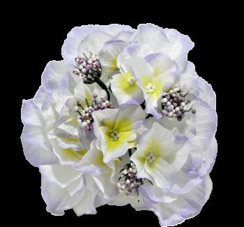 Umělá květina Hortenzie světle fialová