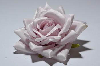 Umělá květina Růže Tamara světle fialová
