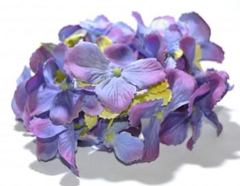 Umělá květina Hortenzie barevná