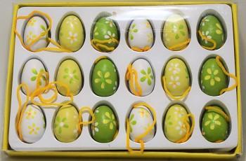 Velikonoční vajíčka v krabičce