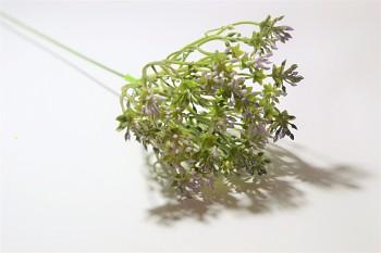 Umělá květina ZELENOFIALOVÁ