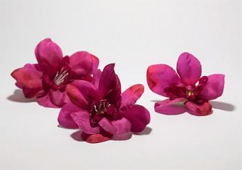 Umělá květina TMAVĚ RŮŽOVÝ KVĚT