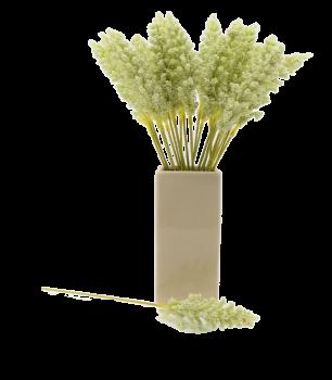 Umělá květina PROSO ZELENÉ