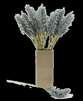 Umělá květina PROSO MODRÉ