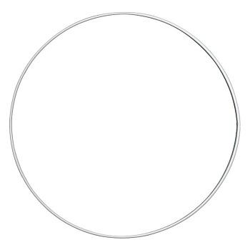 Kovový kruh na lapač snů 18 cm