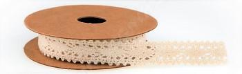 Stuha BAVLNĚNÁ HÁČKOVANÁ 1,5 cm