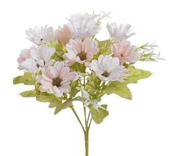 Umělá kytice RŮŽOVÉ KOPRETINKY