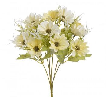 Umělá kytice ŽLUTÉ KOPRETINKY