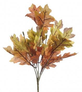 Podzimní dekorace DUB ZELENOORANŽOVÝ