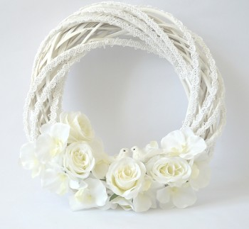 Květinová svatební dekorace
