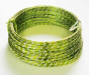 Ozdobný drátek zelený