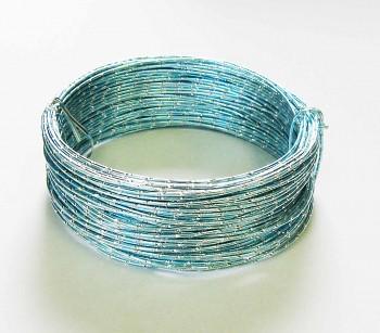 Ozdobný drátek modrý